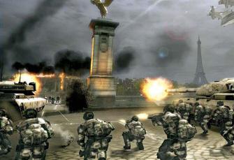 Tom Clancy's EndWar RTS screenshot