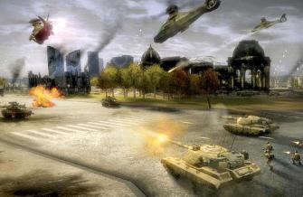 Tom Clancy's EndWar WWIII screenshot
