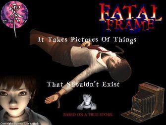 Fatal Frame 1 Miku Wallpaper (PS2 & Xbox)