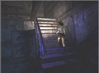 Fatal Frame 1 Screenshot - Miku Stairs (PS2 & Xbox)