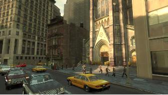 Grand Theft Auto 4 city screenshot