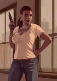 Grand Theft Auto 4 Elizabeta character art