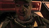 Sergeant Major Avery Johnson from Halo 1: Combat Evolved