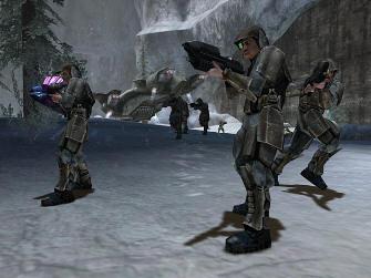 Marines - Halo 1: Combat Evolved Screenshot Xbox