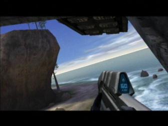 Beach Landing - Halo 1: Combat Evolved Screenshot Xbox
