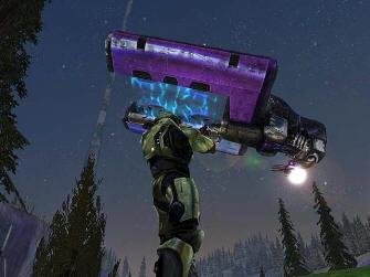 Covenant Dropship Comin'! - Halo 1: Combat Evolved Screenshot Xbox