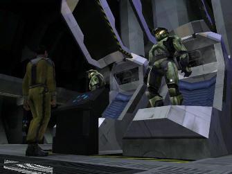 Master Chief Awakes (co-op) - Halo 1: Combat Evolved screenshot Xbox