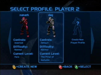 Profiles - Halo 1: Combat Evolved Screenshot Xbox