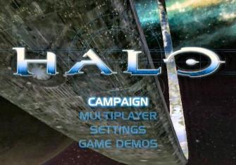 Title Screen - Halo 1: Combat Evolved Screenshot Xbox