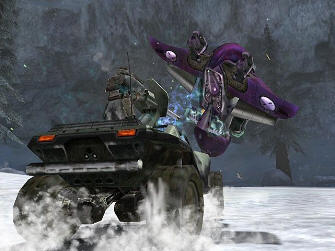 Fun with vehicles - Halo 1: Combat Evolved screenshot Xbox