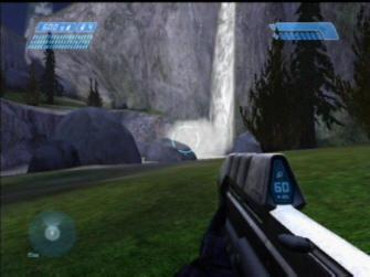 Waterfall - Halo 1: Combat Evolved Screenshot Xbox