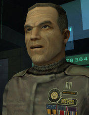 Captain Keyes from Halo 1: Combat Evolved