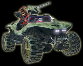 Warthog - Halo 1: Combat Evolved Vehicle