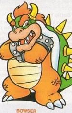 Bowser - Super Mario Bros. 3 Artwork Screenshot