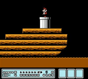 Battleship - Super Mario Bros. 3 Screenshot
