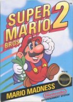 U.S. Super Mario Bros. 2 for NES - Box Art
