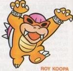 Roy Koopa - Super Mario Bros. 3 Artwork Screenshot