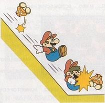 Slide Attack - Super Mario Bros. 3 Artwork Screenshot