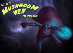 The world of Mushroom Men: The Spore Wars