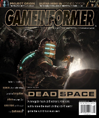Dead Space Game Informer cover. Click for bigger version.