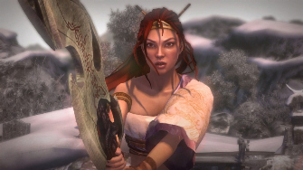 Nariko in Heavenly Sword