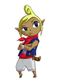 Tetra artwork (Zelda Phantom Hourglass)