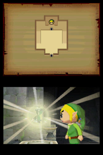 The Legend of Zelda: Phantom Hourglass Screenshot of Gameplay