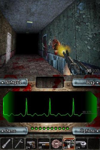 Dementium Screenshot - Weapons