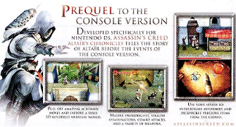 Assassin S Creed Altair S Chronicles Prequel Revealed For Ds