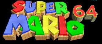 Super Mario 64 Banner-Logo