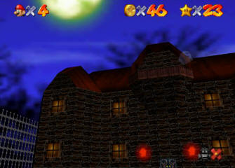 Super Mario 64 Screenshot - Boo's Mansion