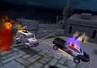 Twisted Metal: Head On: Extra Twisted Edition PS2 screenshot