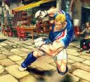 Abel of Street Fighter IV screenshot, up-close & personal