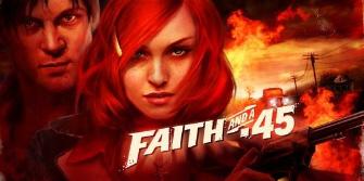 Faith and a .45 game logo