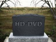 RIP HD DVD (Rest in peace)