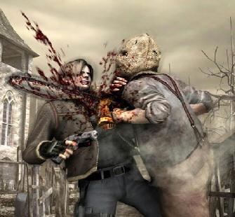 Resident Evil 4 Chainsaw Guy
