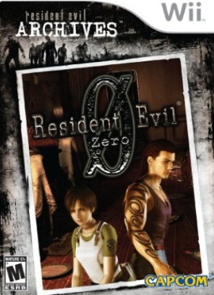 Resident Evil Archives: Resident Evil Zero Box Artwork
