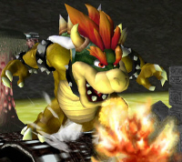 Bowser Character Super Smash Bros. Melee