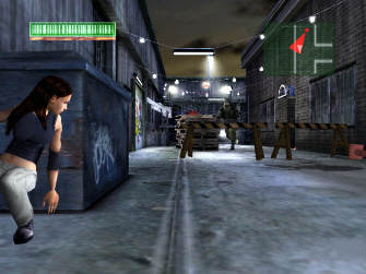 Dark Angel game Max stealth screenshot
