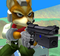 Fox Character Super Smash Bros. Melee
