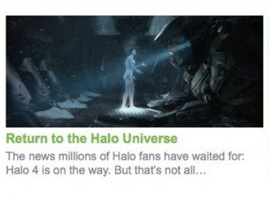 Halo 4 Xbox.com confirmation picture