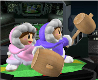 Ice Climbers Character Super Smash Bros. Melee Screenshot