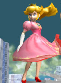 Peach Character Super Smash Bros. Melee