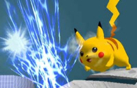 Pikachu Character Super Smash Bros. Melee Screenshot