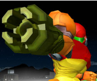 Samus Character Super Smash Bros. Melee Screenshot