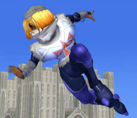Sheik Character - Super Smash Bros. Melee Screenshot