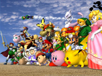 Super Smash Bros. Melee All Characters Artwork!