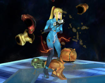 Zero Suit Samus unlocked