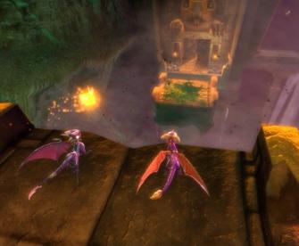 The Legend of Spyro 3: Dawn of the Dragon Xbox 360 screenshot