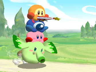 Kirby Adventure Wii screenshot